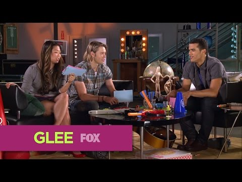 GLEE  Rapid Fire: Jenna, Chord & Jacob