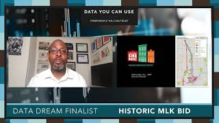 Data Day 2020 - Data Dream Finalist - Historic Martin Luther King Drive BID