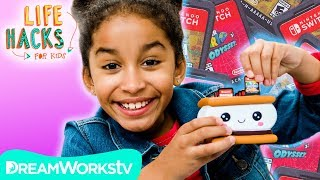 Squishy Nintendo Switch Game Holder | LIFE HACKS FOR KIDS
