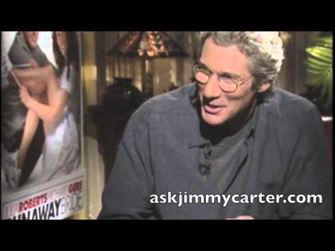 Richard Gere interview with Jimmy Carter