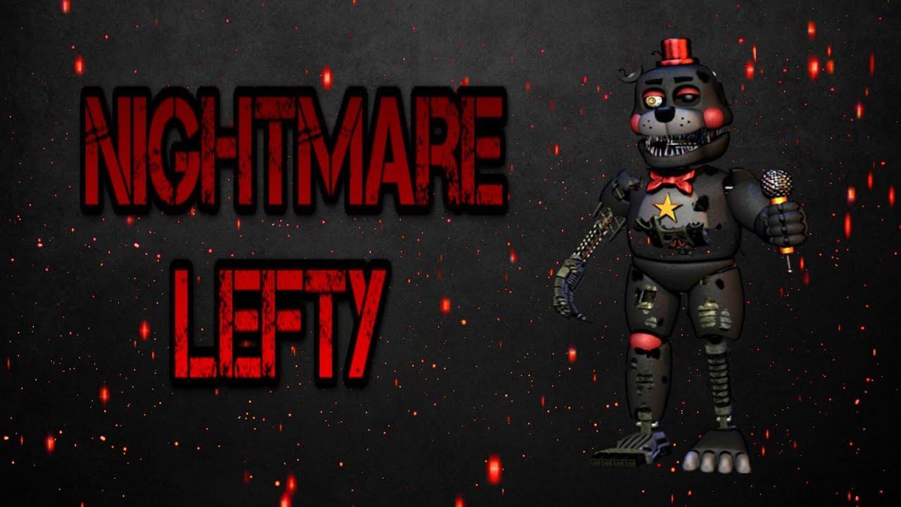 fnaf speed edit making nightmare lefty youtube