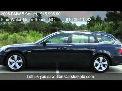 2006 bmw 5 series 530xit for sale in wilmington nc. Black Bedroom Furniture Sets. Home Design Ideas