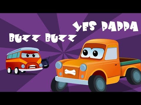 Buzz Buzz Yes Pappa Children Nursery Rhymes For Kids And Babies
