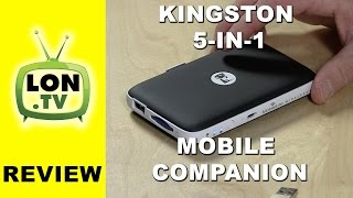 Kingston Mobilelite Wireless G2  Review - 5-in-1 Mobile Companion - MLWG2