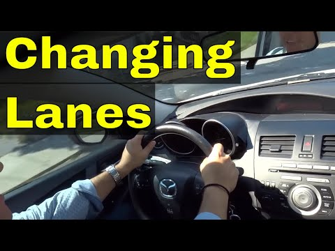 Changing LanesDriving Lesson For Beginners