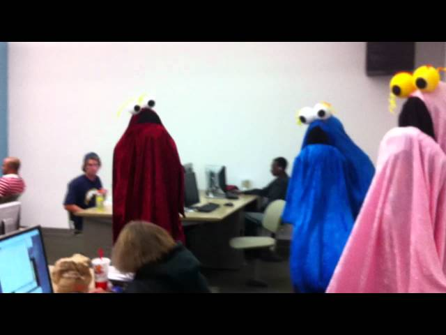 Yip Yips Invade Computer Lab