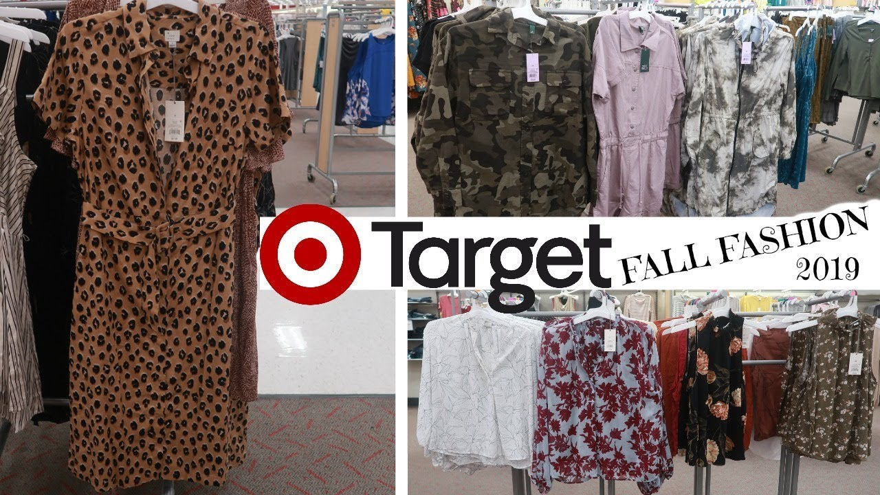 [VIDEO] - TARGET FALL 2019 FASHION!!! COME BROWSE WITH ME 2