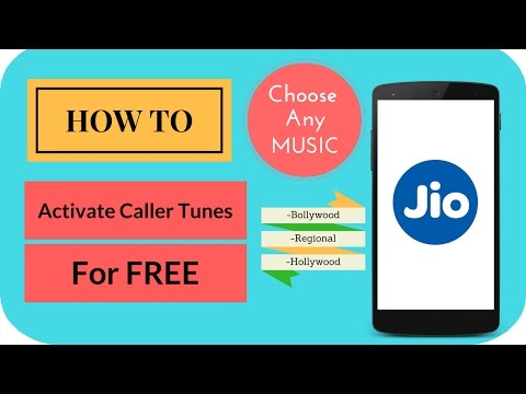 Reliance Jio- How to Activate Free Caller...