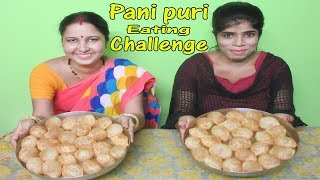 Pani puri challenge | Golgappa/Fuchka Eating Competition | Food Challenge | Eating Challenge