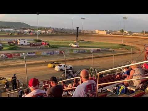 Lawrenceburg Speedway Hornet Heat #1 (6/29/2019)