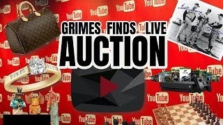 Grimes Finds Treasure Auction! Bid High Bid FAST!