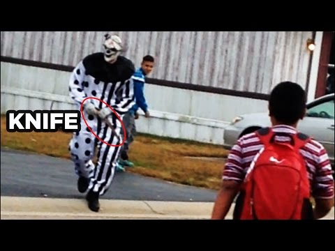 Top 15 Real Creepy Killer Clown Sightings