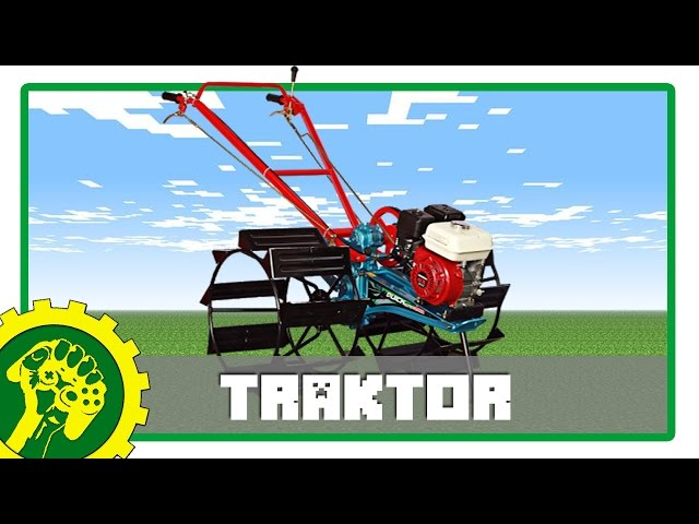 Minecraft Tutorial - Membuat Traktor