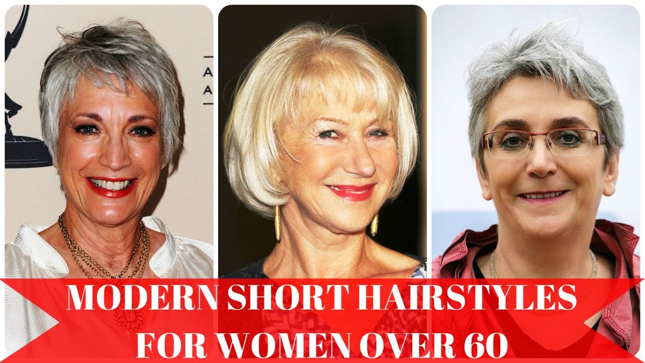 Modern Short Hairstyles For Women Over 60