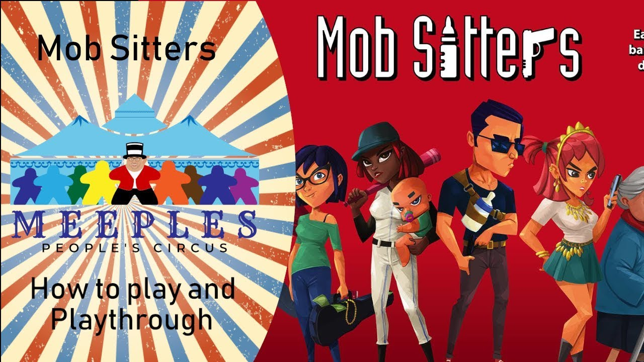 Mob Sitters How to play and Playthrough