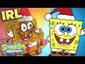 Gambar cover SpongeBob Christmas IRL w/ Gingerbread! | SpongeBob