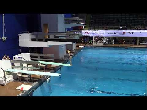 2017 Canada Summer Games - Diving Preliminaries - 1M Women