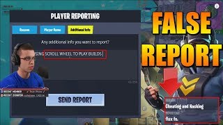 Nick Eh 30 FALSELY REPORTS Controller Player For BUILDING?