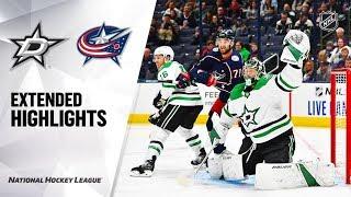 Dallas Stars vs Columbus Blue Jackets Oct 16, 2019 HIGHLIGHTS HD