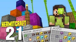 HermitCraft 7: 21 | BELT, JACKPOTS & EXPERIMENTS