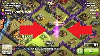 STRANEZZE CLASH OF CLANS - bug Clash of Clans ITA - [ATTACCO WAR TH10 vs TH11]