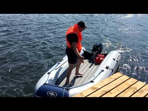 Прыгай на меня полностью! Краш-тест лодки с надувным дном низкого давления (НДНД)