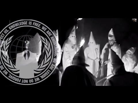Anonymous to Reveal Identities of 1,000 KKK Members