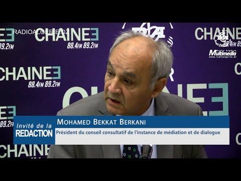 Mohamed Bekkat Berkani Président du conseil consultatif de l'instance de médiation et de dialogue