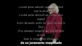 Avec le temps (subtitulos español). Leo Ferre