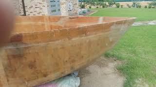 집마당에서 보트 만들기 1 skiffboat자작보트ko…
