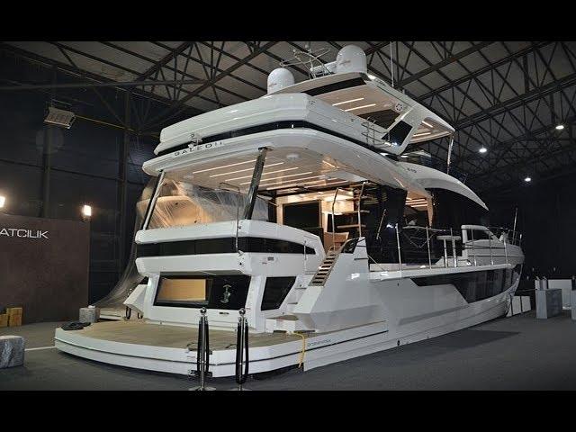 Tekne değil adeta villa! Değeri tam 50 milyon lira