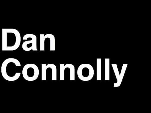How to Pronounce Dan Connolly New England Patriots NFL Football Touchdown TD Tackle Hit Yard Run