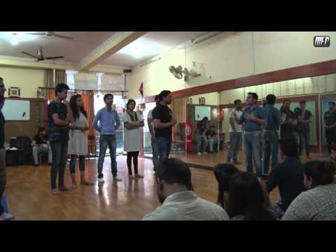 Acting Workshop for Soch Theater Group  part - 3 | Moving Frame Productions