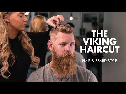 The Viking Haircut - Short Hair For Men With Beard
