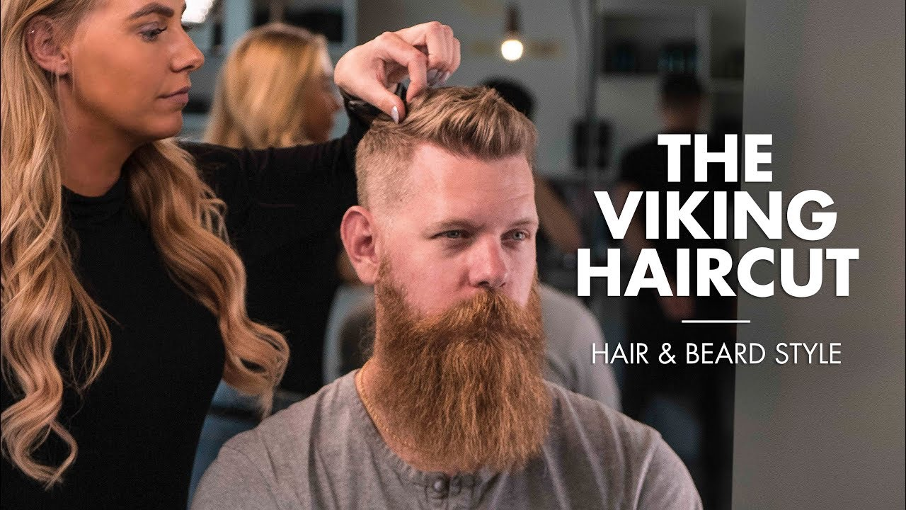 The Viking Haircut Short Hair For Men With Beard Youtube