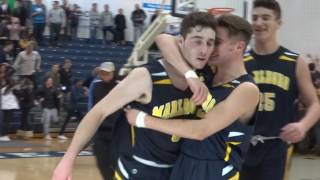 P.J. Ringel hits 2 free throws and Marlboro knocks off Ranney to advance to SCT final