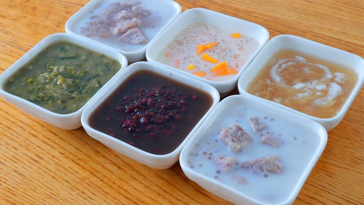 5種廣式糖水教你在家做,步驟簡單味道好,冰爽香甜,不用出去買【夏媽廚房】