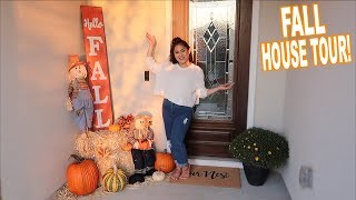 FALL DECOR HOUSE TOUR 2019