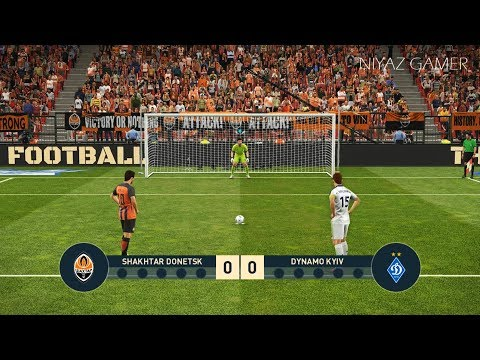 SHAKHTAR D Vs DINAMO KYIV   Penalty Shootout   PES 2019 Gameplay PC