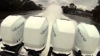 Nor Tech 390 quad 400 R's = Worlds Fastest Offshore Fishing Boat