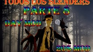 TODOS LOS SLENDERS (DAY y 20$ MODS) Parte 8: Rap con Slender