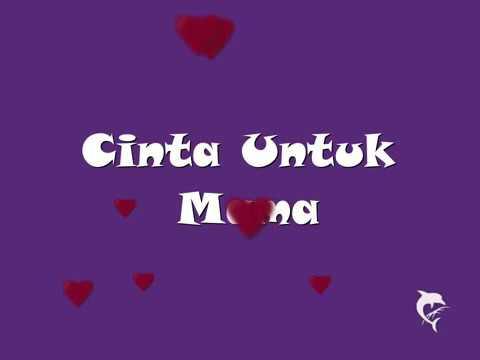 Cinta untuk mama lirik