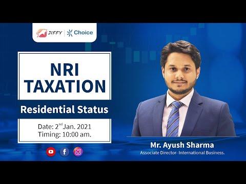 NRI Taxation: Residential Status