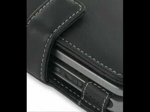 PDair Leather Case for Dopod 900/ VPA IV - Book Type (Black)