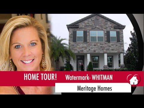 New Homes Winter Garden Florida Whitman Model By Meritage