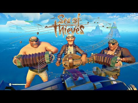 EVERY Sea of Thieves Song | HURDY GURDY Lead | Full Band/Crew