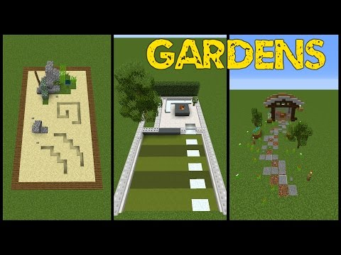 14 Minecraft Garden Designs! (Tricks and Tips)