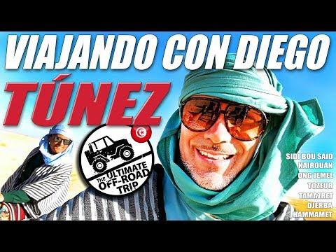 Una semana en TÚNEZ en Viajando con Diego - Aventura 4x4 - #BlueBayTrips