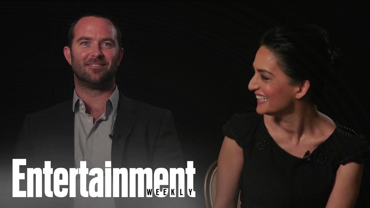 Blindspot: Archie Panjabi & Sullivan Stapleton On Their Characters & Season  2 | Entertainment Weekly