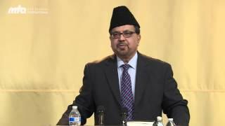 Ancestors of the Holy Prohphet Muhammad (pbuh) - Naseem Mahdi - Jalsa Salana West Coast USA 2014